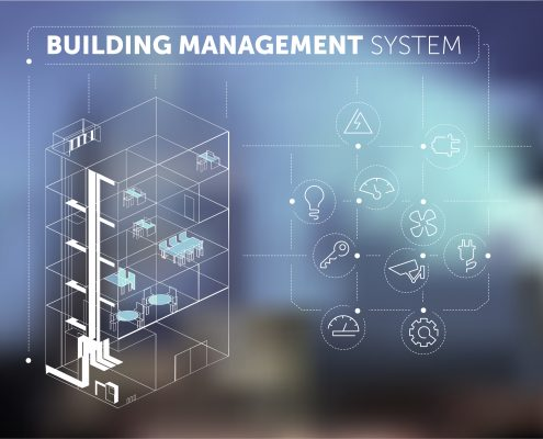 Commercial Integrated systems graphic